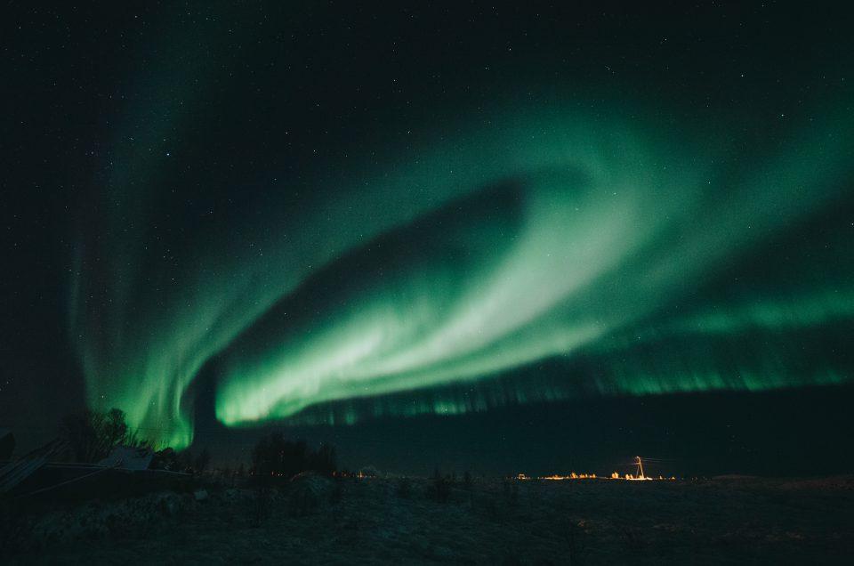 Pohjoisen vihreän värikäs yö